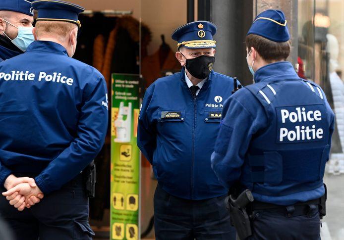 Contrôles à Bruxelles (décembre 2020)