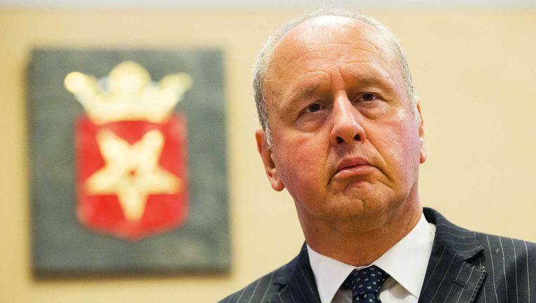 Burgemeester Hans Gerritsen van Haaksbergen. Beeld anp