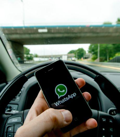 'Is WhatsApp niet automatisch uit te schakelen in de auto?'