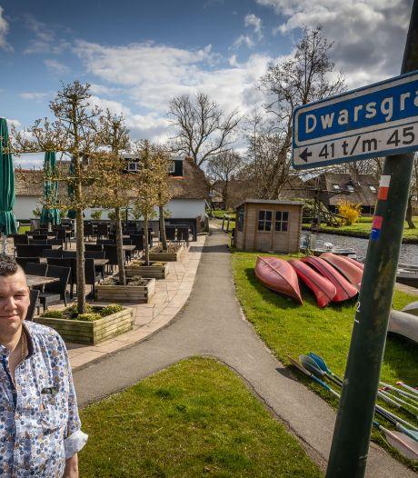 Tegenstanders fietsverkeer zitten horeca-ondernemer Frank Vos de voet dwars