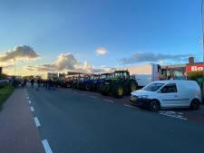 Distributiecentrum Boni in Nijkerk bezet door boze boeren