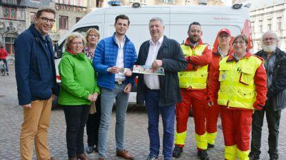 Rode Kruis hoopt 8.000 stickers te verkopen
