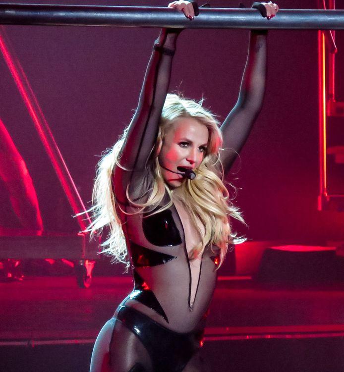 Britney Spears in Las Vegas.