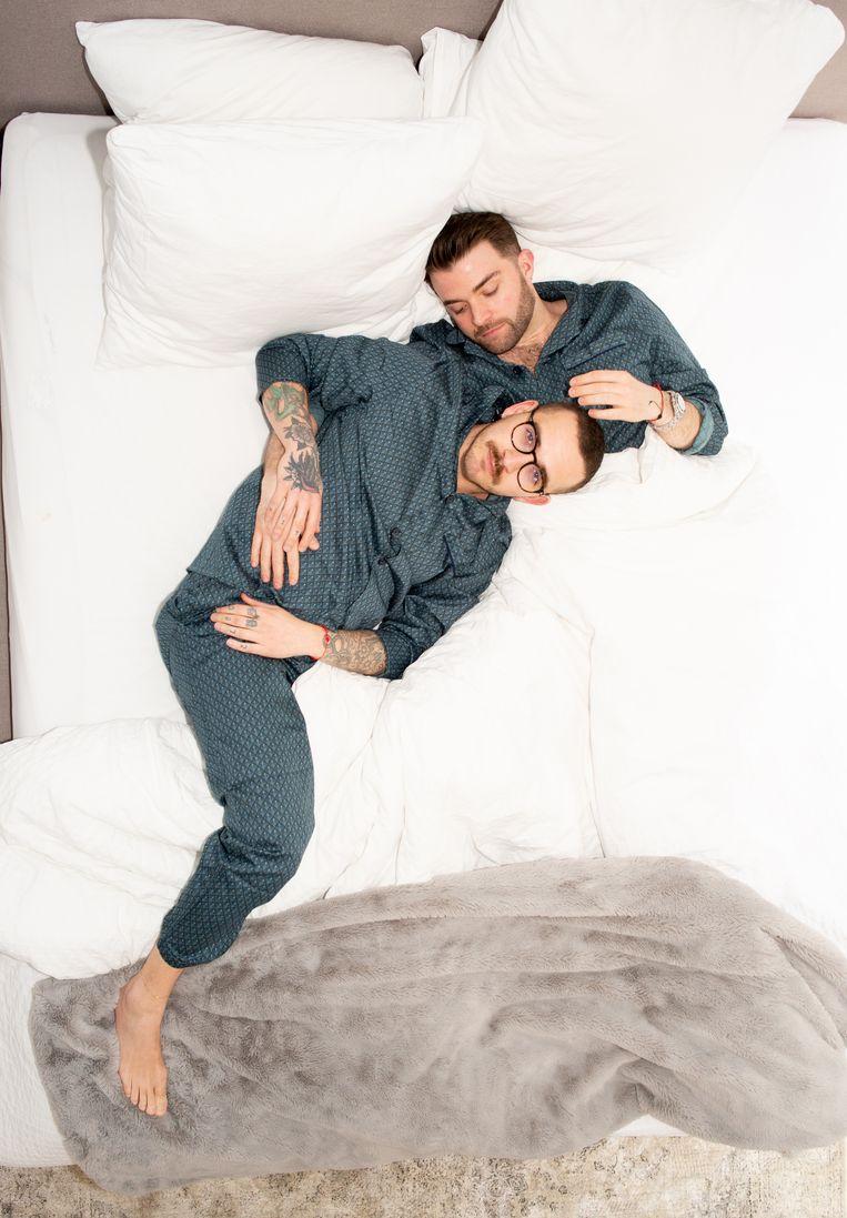 Jon Charlesworth (34) en Lev Kiziltepe (30). Beeld Marjolein van Damme