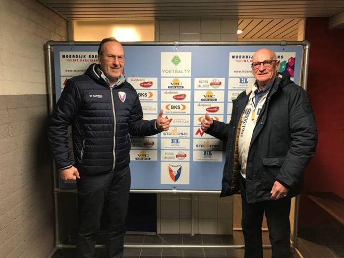 Marco van Dijnsen gaat langer door bij VV Klundert