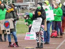 Twee minuten lawaai tijdens klimaatdemonstratie in Amersfoort: 'Goed klimaatbeleid komt er niet vanzelf'