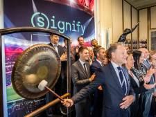 Lampenmaker Signify speelt weer in de eredivisie; weer terug in rijtje bij Philips en ASML