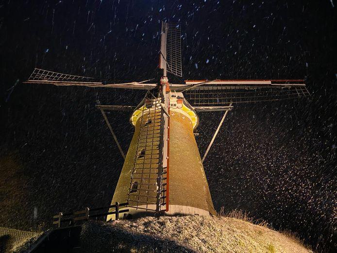 Sneeuwplezier in Elten.