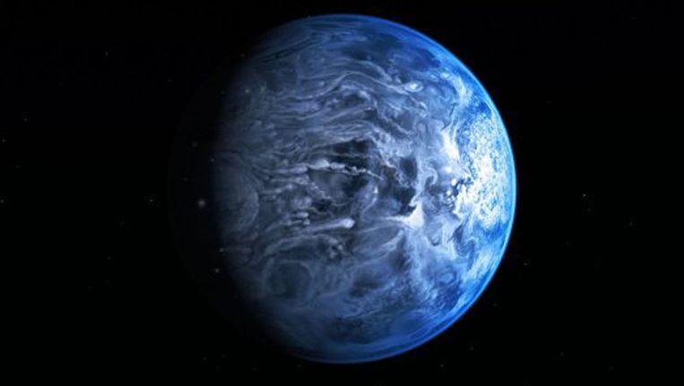 Een artist's impression van de HD 189733b. Beeld NASA