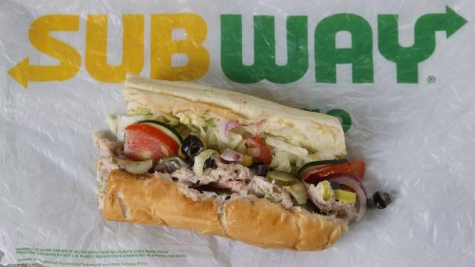 Geen enkel spoor van tonijn in broodjes tonijn van Subway, blijkt uit laboratoriumtest