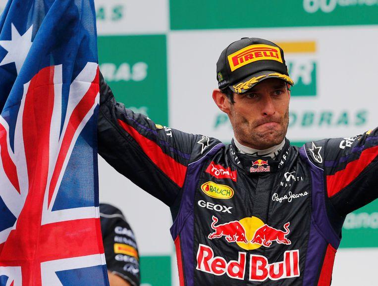 Mark Webber. Beeld REUTERS