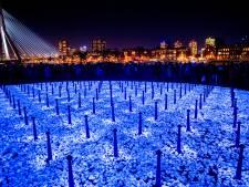 Lichtmonument onthuld in Woerden, morgen is het 75 jaar na bevrijding Auschwitz