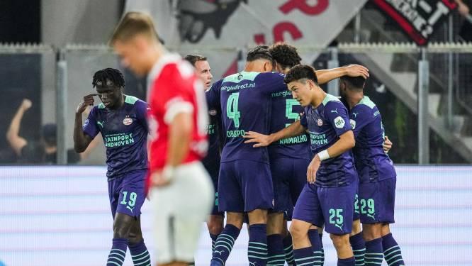 PSV wint topper tegen AZ en blijft foutloos na vier duels in eredivisie