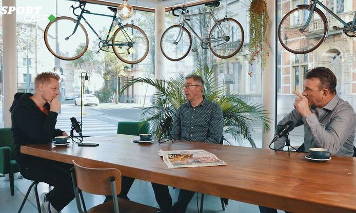 Stijn Vlaeminck kaartte in HLN SPORTCAST met Dirk De Wolf en Johan Museeuw na over de Amstel Gold Race.