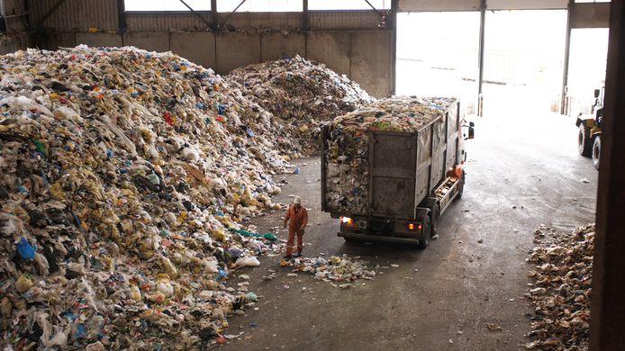 Plasticafval. Foto ter illustratie.