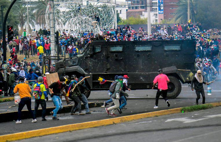 Politieke crisis in Ecuador verhard