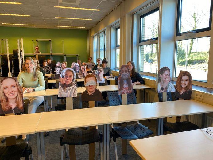 Sander Meier (24) studeert Civiele Techniek aan Saxion. Samen met medestudenten bedacht hij een manier om de klas 'vol' te krijgen.