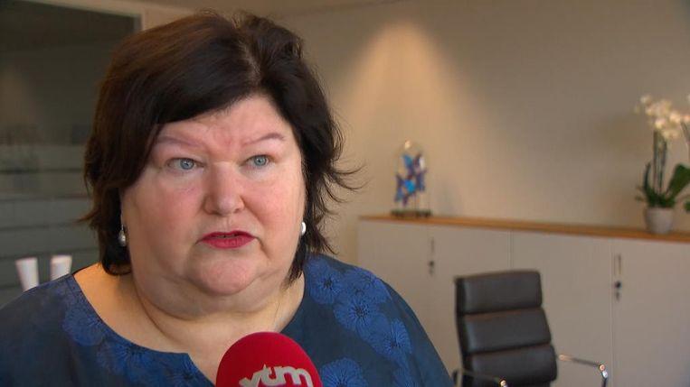 Maggie De Block Beeld VTM NIEUWS