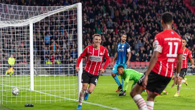 PSV scoort iets meer dan vorig seizoen, maar loopt ook nog vaak vast