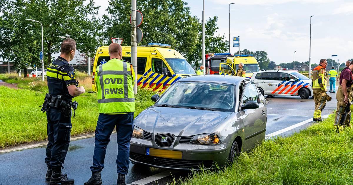 Fietser gewond bij aanrijding met auto in Berkel-Enschot.