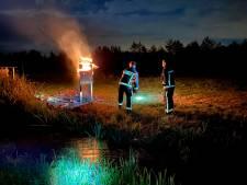 Vandalen trekken spoor van vernieling in polder: 'Dingen kapot gemaakt die een emotionele waarde hebben'