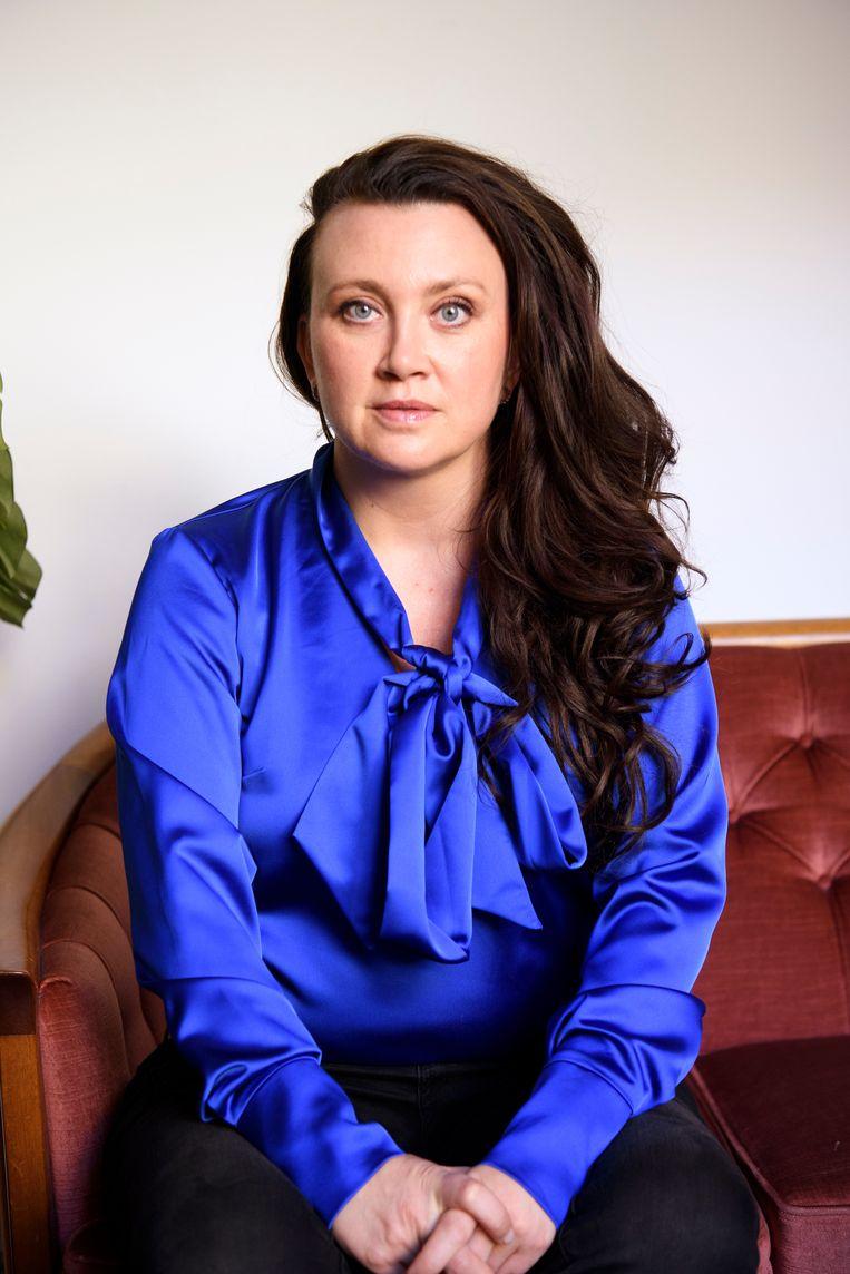 Camilla Läckberg: 'Ik moet meer gaan werken aan de bitch in mezelf.' Beeld BELGAIMAGE
