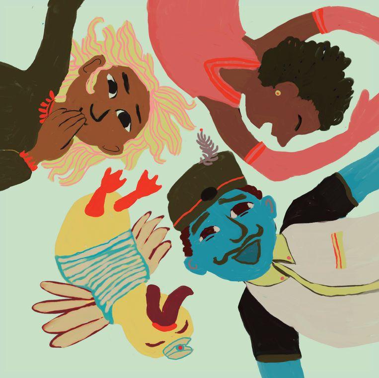 Illustratie van Marijke Klompmaker, afkomstig uit 'Troostfilosofie'. Beeld Marijke Klompmaker