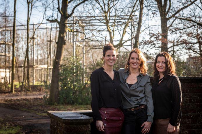 V.l.n.r. Gusta van de Ven, Marjolein Kluijtmans en Wendy Swinkels. Zij organiseren het Laarbeekse festival Special Starz, speciaal voor mensen met een beperking.