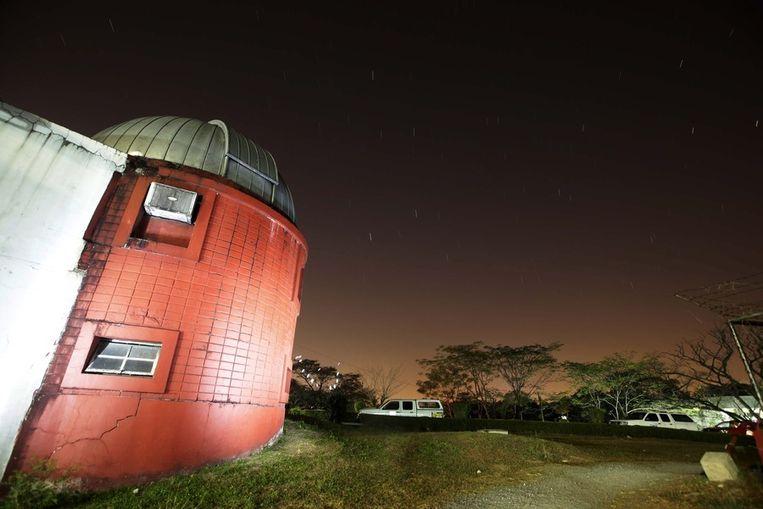 De sterrenwacht van de University of the Philippines in Manilla. Beeld afp