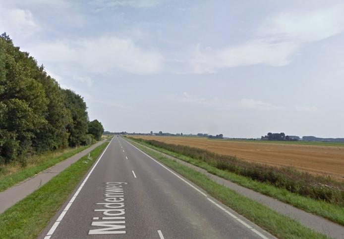 Middenweg bij Biervliet