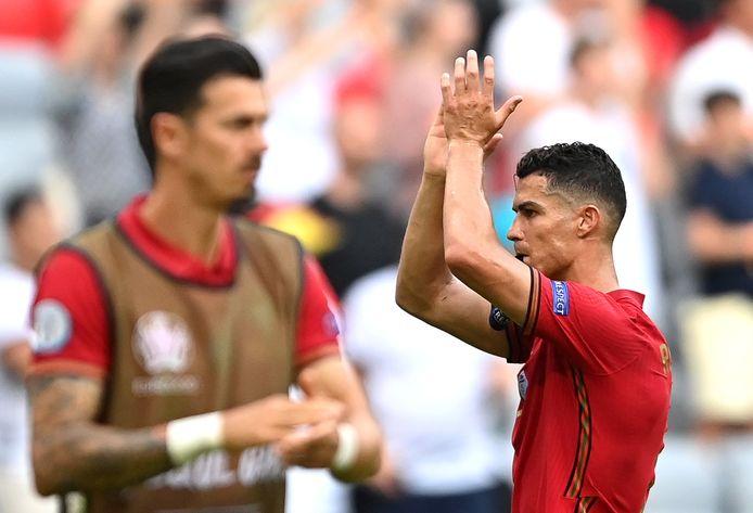 19 buts en grands tournois, 107 buts avec le Portugal: Cristiano Ronaldo a encore frappé.