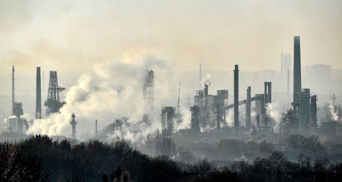 Een olieraffinaderij van BP in het Duitse Gelsenkirchen.