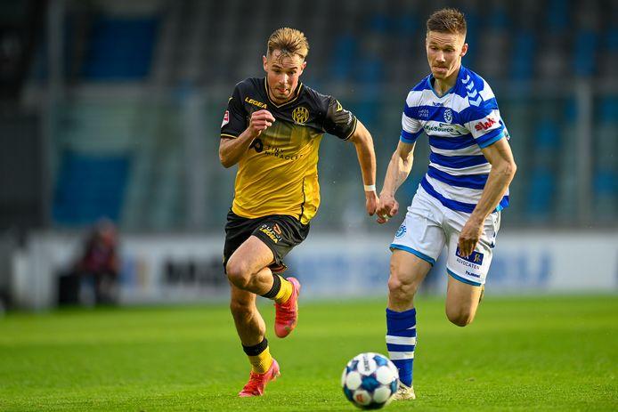 Roland Baas staat ook de komende twee jaar onder contract bij De Graafschap.