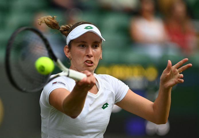 Comme à Roland-Garros, Elise Mertens s'arrête au troisième tour à Wimbledon.