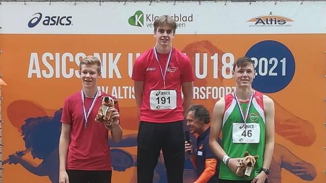 Deze Brabantse atleet (17) veroverde goud en brons tijdens de NK junioren: 'Ik hoop op een toernooi in het buitenland'