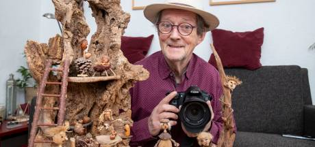 Renk (76) creëert en fotografeert Boskneuters: 'Mijn fantasie is vrij rijk'