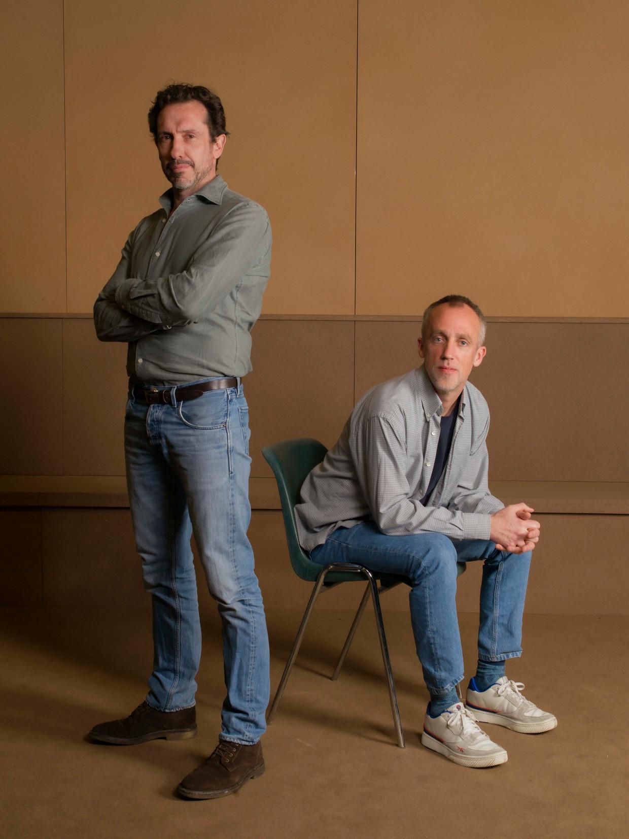 Jacob Derwig (links) en Erik Whien.  Beeld Eva Roefs