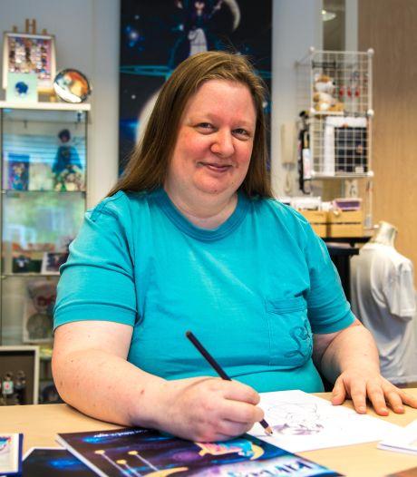 De fantasierijke tekencreaties van Kim (38) leiden tot tatoeages... en een huwelijk!