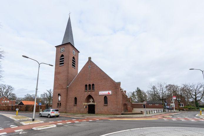 De St. Stephanuskerk in Bornerbroek.