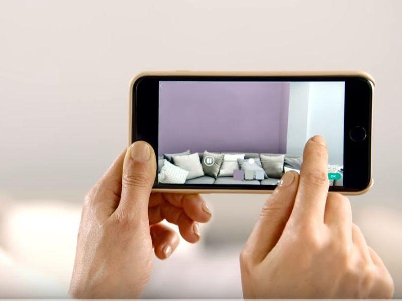 Kleuradvies met de Levis Visualizer app