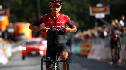 KOERS KORT. Bernal rondt ploegwerk af in Gran Piemonte - Gilbert kopman in Lombardije