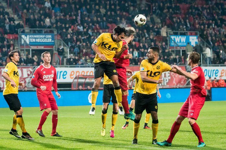 FC Twente - Roda JC eindigde op 28 oktober met 0-0. Beeld anp