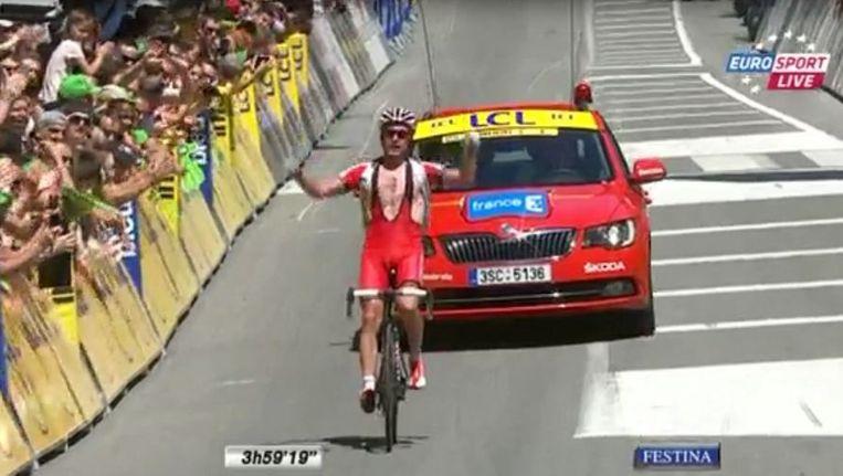 null Beeld Screenshot Eurosport