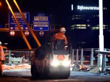 Zó langzaam sukkelde je de afgelopen weken over de Galecopperbrug bij Utrecht