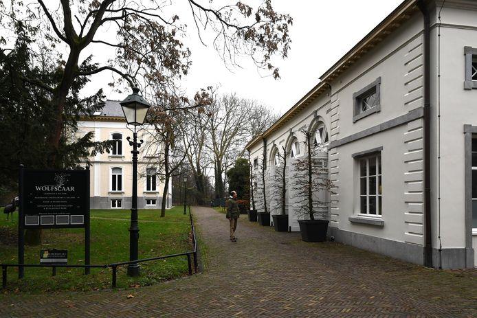 Landgoed Wolfslaar Breda, met villa en koetshuis.