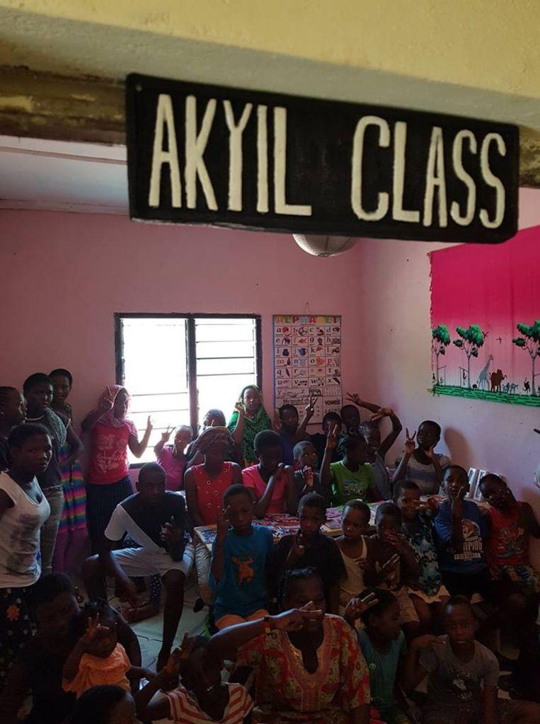 De klas van Kerim.