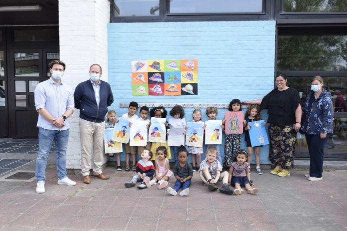 De creatieve leerlingen van De Vierboete.