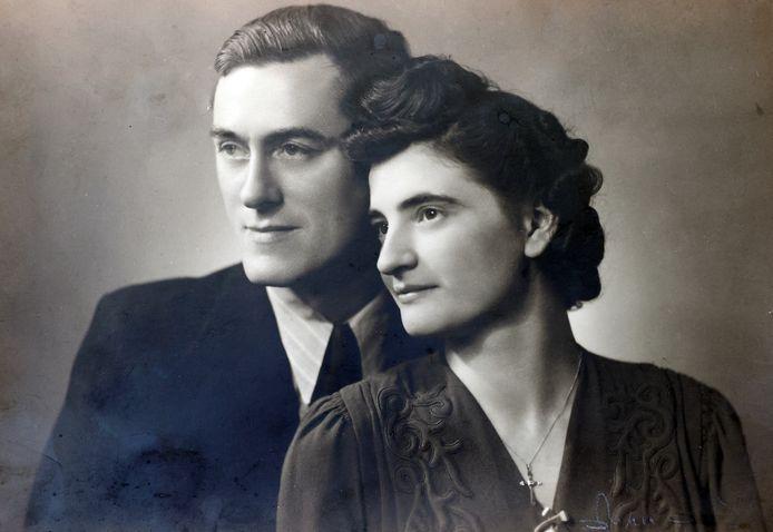 Willy Van Paemel en Yvonne Schollen, de ouders van Annie. Zij vertelt het levensverhaal van haar vader in Dag Allemaal.