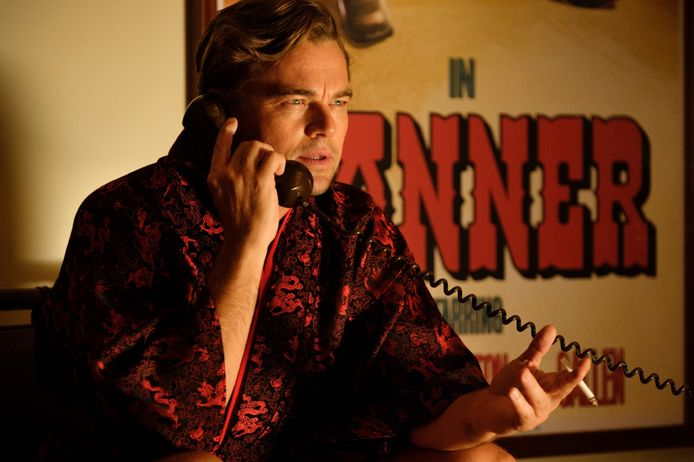 """Leo dans """"Once Upon a Time... in Hollywood""""."""
