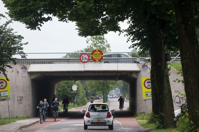 Het Tunneltje onder de A12 bij De Klomp.